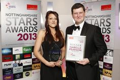 Hospitality apprentice, Isabelle was announced Outstanding Young Manager at the Nottinghamshire STARS Awards 2013!