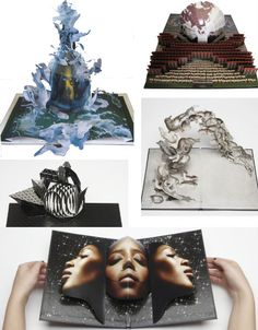 Pop-Up Punch: 15 Books Adults Will Love Visionaire Surprise D Book, Book Art, Origami And Kirigami, Origami Templates, Box Templates, Cool Books, Pop Up Books, Pop Up Karten, Tunnel Book