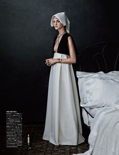 """Caroline's Symphony"" | Model: Caroline Trentini, Photographer: Giampaolo Sgura, Vogue Japan, October 2015"