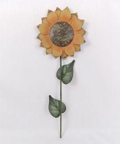 Tin Sunflower Pick