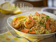 Pancit Bihon Guisado Recipe | wokwithray.net- Filipino & Asian Home Style Cooking
