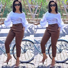 @kefilwe_mabote #s_k_v_fashion #skvfashion Classy Work Outfits, Office Outfits Women, Classy Casual, Stylish Outfits, Cute Outfits, Corporate Outfits, Corporate Attire, Business Casual Outfits, Work Fashion