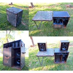 DJ Booth In A Box Ultimate Mobile Audio Setup!  #DJ #BoomCase #BoomBox #Mobile #Portable