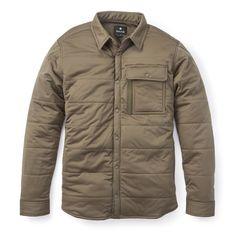 Snow Peak Flexible Insulated Shirt Jacket