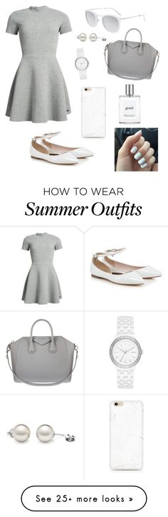"""Fancy outfit"" by cheleniak on Polyvore featuring Superdry, Givenchy, DKNY, philosophy and Smoke x Mirrors"