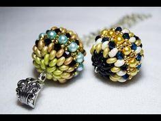 DIY Tutorial Agape Bead (beaded bead) + Auguri di Natale con la mia brutta faccia :p - YouTube