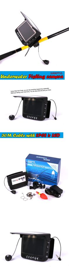 Visible Video Fish Finder Underwater Ice Fishfinder Fishing Camera Ir Night For Vision Monitor Kit 30m Cable Cr110-7hbs