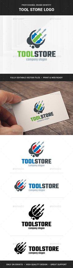 Tool Store Logo Template