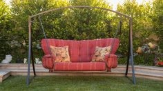 Decorating Ideas from Out on the Patio: OW Lee Monterra Swing-FRONT PORCH