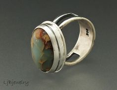 Jasper Ring by Laura Jane Bouton