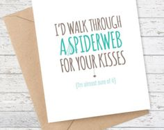 Boyfriend Card Girlfriend Card I like you Card by FlairandPaper