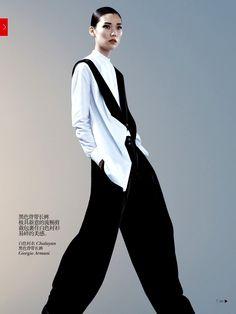 Tao Okamoto by Josh Olins for Vogue China