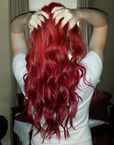 My sister wants her hair like this  pretty, but if u saw my sister u agree she shouldn't get it red