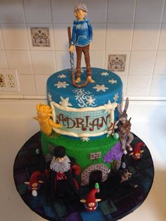 Jack Frost rise of the guardians cake
