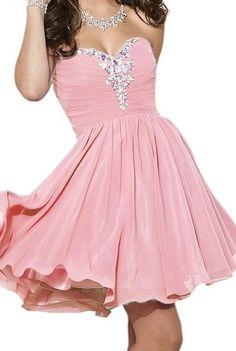 Homecoming Dress Chiffon Sweetheart PROM DRESS