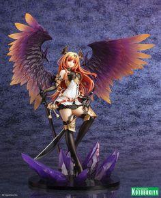 Kirin Hobby : Rage of Bahamut: Dark Angel Olivia Ani Statue 1/8 Figure by Kotobukiya