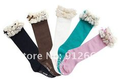 10pairs/lot girl lace dance stocking children knee high boot socks leg warmer 3 8years Free Shipping-in Leg Warmers from Apparel & Accessories on Aliexpress.com order these