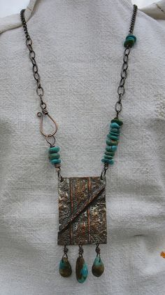 Folded copper by Debbie / Prairie Emporium, via Flickr