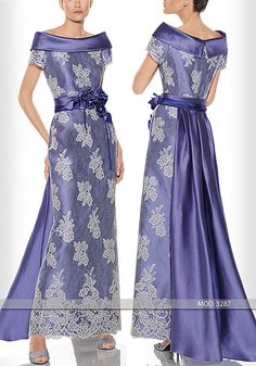 Vestido de madrina largo de Teresa Ripoll modelo 3287 by Teresa Ripoll | Boutique Clara. Tu tienda de vestidos de fiesta.