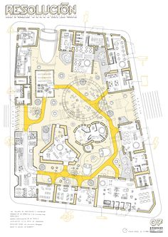 guillermo trapiello, visual artist and designer Architecture Site Plan, Architecture Concept Drawings, Architecture Panel, Masterplan Architecture, Office Plan, Site Plans, Aarhus, Master Plan, Urban Planning