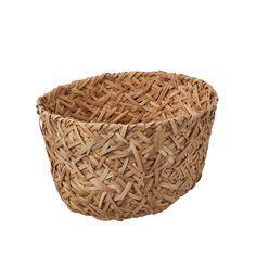 """TJILLEVIPS Basket, rattan, Width: 9 ¾"""" - IKEA Ikea Basket, Rattan Basket, Wicker, Ikea Storage Boxes, Storage Baskets, Jute, 365 Jar, Liatorp, Sink Shelf"""