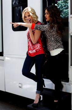 "Ashley Benson & Lucy Hale – ""Bongo"" Fall 2012 Campaign | Todaysweet"
