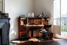 What a great office corner