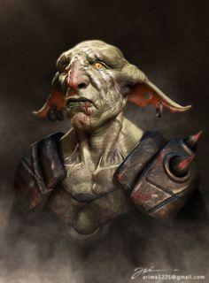 Gogob goblin, ari yanto on ArtStation at https://www.artstation.com/artwork/gogob-goblin