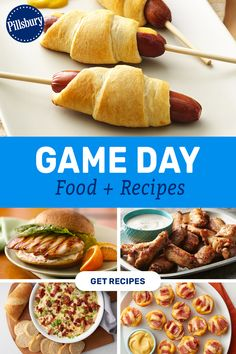 In our opinion, fun food is the best part of the game! Figure out your plan of snack attack by checking out our favorite recipes and watch a how-to video to make Crescent Mini Dogs. Simpsons Art, Mini Dogs, Game Day Food, Pillsbury, Tis The Season, Fall Recipes, Good Food, Appetizers, Pumpkin