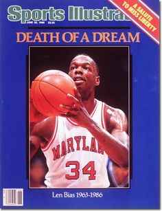#76ersPrideRichardMillsProud Len Bias Tragedy Warning To All! Len Bias, Basketball, University of Maryland Terrapins - Tragic End #Cocaine Alters Your Behavior! Drugs Used To #Brainwash And Control Addicted #USA Victims. JUST SAY NO TO DRUGS/COKE!