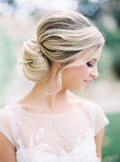8 Stunning Bridal Up-do Hairstyles — Jenna McElroy Bridal Braids, Bridal Hair Updo, Wedding Hair And Makeup, Wedding Beauty, Hair Makeup, Loose Hairstyles, Bride Hairstyles, Hairstyle Ideas, Bridal Looks