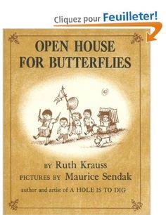 Open House for Butterflies: Amazon.fr: Ruth Krauss, Maurice Sendak: Livres anglais et étrangers
