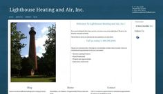 Custom theme for Lighthouse Heating and Air, Inc. Not for reuse