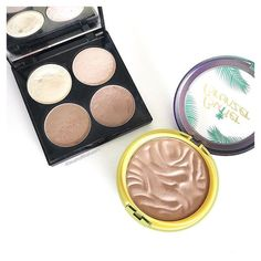 FAVE BRONZERS 2017   Have you seen my ultimate beauty favourites blog post for 2017? These two were featured   What is your favourite bronzer of all time?  I am so pale I adore bronzers they give me life  I just discovered a new fave the other week too so I am always on the lookout for the next best bronzer!       #makeupinspo #beautycommunity #makeupcollection #flatlayforever #instabeautyau #bbloggersaus #modernmakeup #makeuptips #ausbeautybabes #makeupobsession #slave2makeup…