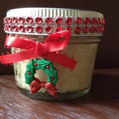 Christmas Sale! On Sale! Christmas Wreath Organic Bath and Beauty Hand and Body Moisturizing Sugar Scrub/Christmas Stocking Stuffer/Gift by TheSweetwaterShop on Etsy https://www.etsy.com/listing/257181319/christmas-sale-on-sale-christmas-wreath