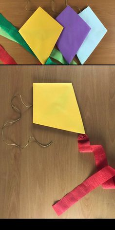 Make this simple Mary Poppins kite craft after watching Mary Poppins Returns. Its easy enough for kids to make, making it ideal for rainy day fun, a Mary Poppins party activity or DIY party decorations. Paper Crafts For Kids, Preschool Crafts, Diy For Kids, Crafts To Make, Fun Crafts, How To Make Kite, Kites Craft, Kites For Kids, Rainy Day Fun