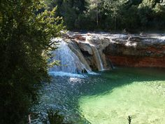 Barcelona, Places To Travel, Places To Visit, Medieval, Waterfall, Borneo, Travel Inspiration, Outdoor, Hiking Trails