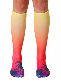 cedd45ed405 Living Royal - Sunset Knee High Socks