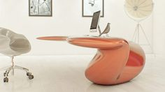 Stranger Than Vintage: Monday Design: Create Your Own Futuristic Office Space