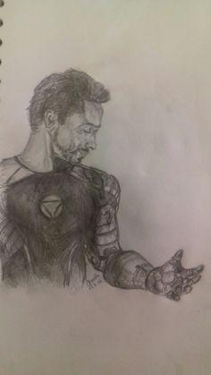 Tony Stark drawing I did Tony Stark, My Arts, Drawings, Sketches, Drawing, Portrait, Draw, Grimm, Illustrations