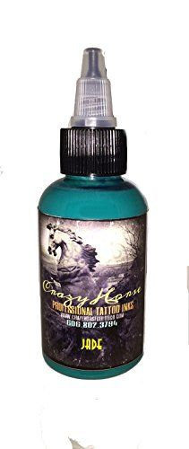 Crazyhorse High Quality Tattoo Ink Jade Read More At The Image Link This Is An Affiliate Link Tattooinks Ink Tattoo Ink Inks