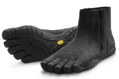 I would buy these and wear them just because they would make me laugh. Vibram FiveFingers Bormio articulated toes boots
