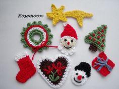 weihnachten, Baum, Weihnachtsbaum  von rosemoon auf DaWanda.com