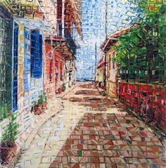 "Saatchi Art Artist Dimitri Kaliviotis; Drawing, ""Lefkada 1"" #art"