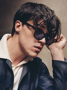 Classic Sunglasses, Modeled by the Rising Actor Finn Wittrock Finn Wittrock, American Horror Story Series, Beautiful Men, Beautiful People, Clueless Outfits, Aesthetic Pictures, Pretty Boys, Celebrity Crush, Pretty People