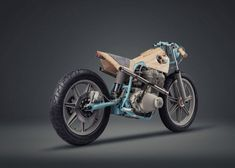 JVLT014 motorbike – sculpture by Joe Velluto & NorthEastCustom » Retail Design Blog
