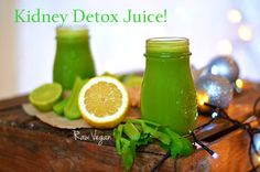 Welcome The New Year with this Kidney Detox Juice!