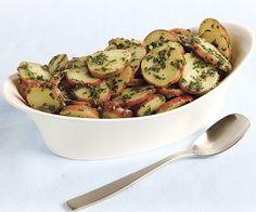 Warm Potato Salad with Lemon and Fresh Herbs