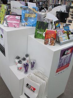 Bega Library - Drug Action Week display