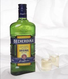 Becherovka the excellent choice for quick sleep (or anaesthesics) @Chris Cote Cooper
